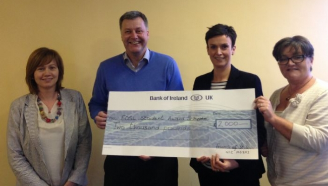 Friends of St Louis Donate £2000 to SLG