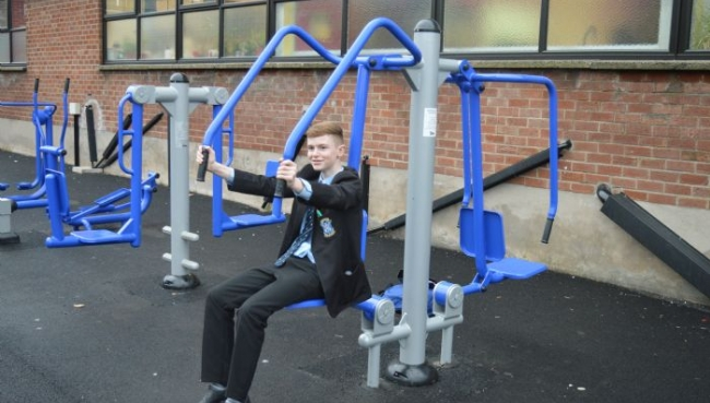 St Louis get new outdoor gym!