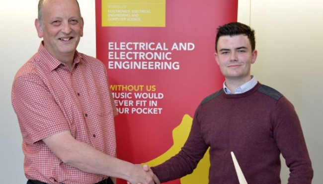 Past Pupil James Burns awarded awarded 'Powerful' Scholarship