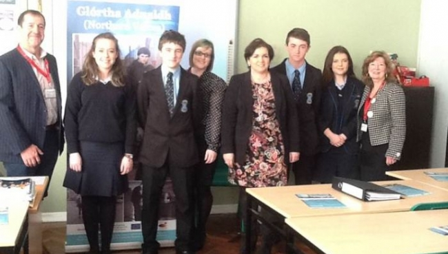 Sixth Year Government and Politics Get Involved Glortha Aduaidh (Northern Voices)