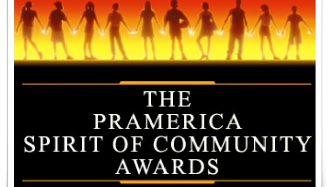 Nathan O'Kane - winner of 2016 Pramerica Spirit of Community Awards